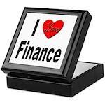 I Love Finance Keepsake Box
