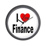 I Love Finance Wall Clock