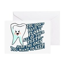 The Teeth You Want To Keep Greeting Card