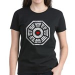 Dharma Red Heart Women's Dark T-Shirt