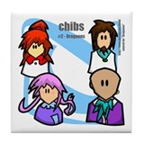 Chibs #2 Tile Coaster