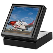 Cute Airplane flight Keepsake Box