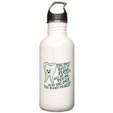 Encourage Dental Hygiene Water Bottle