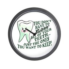 Encourage Dental Hygiene Wall Clock