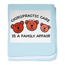 Chiro Bear Family Affair baby blanket