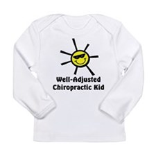 Well-Adjusted Chiro Kid Long Sleeve Infant T-Shirt