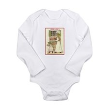 Lucia Long Sleeve Infant Bodysuit