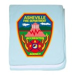 Asheville Fire Department baby blanket