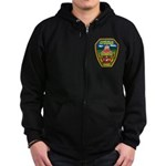Asheville Fire Department Zip Hoodie (dark)
