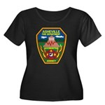 Asheville Fire Department Women's Plus Size Scoop