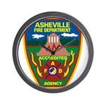 Asheville Fire Department Wall Clock