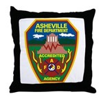Asheville Fire Department Throw Pillow