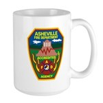 Asheville Fire Department Large Mug