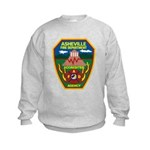 Asheville Fire Department Kids Sweatshirt
