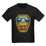 Asheville Fire Department Kids Dark T-Shirt