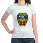 Asheville Fire Department Jr. Ringer T-Shirt