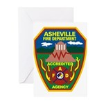 Asheville Fire Department Greeting Cards (Pk of 20