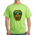 Asheville Fire Department Green T-Shirt