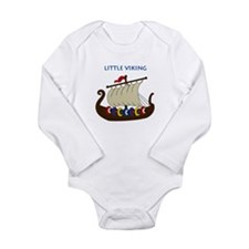 Vikings Long Sleeve Infant Bodysuit