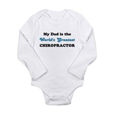 Dad World's Greatest Chiro L/Slv Infant Bodysuit