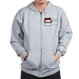 Christmas Soup Can Zip Hoodie