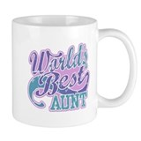 World's Best Aunt Small Mug
