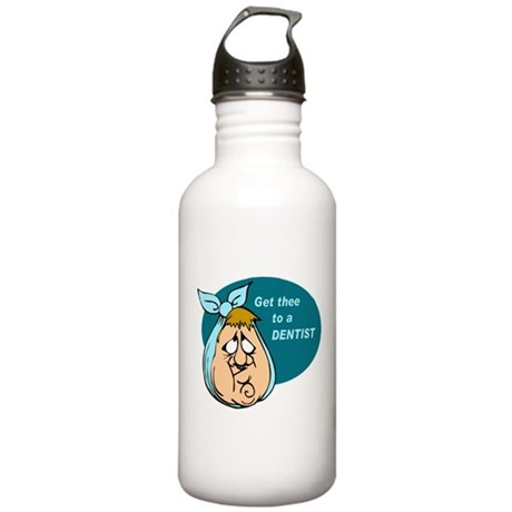 Toothache Stainless Water Bottle 1.0L
