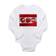 Bad to Good Long Sleeve Infant Bodysuit