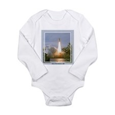 STS 122 Long Sleeve Infant Bodysuit