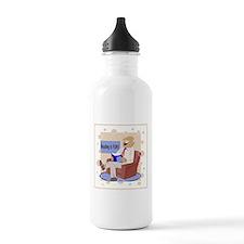 Fun Reading Water Bottle