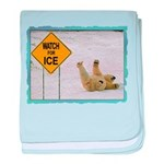 Watch for Ice baby blanket