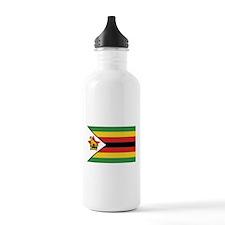 Flag of Zimbabwe Water Bottle