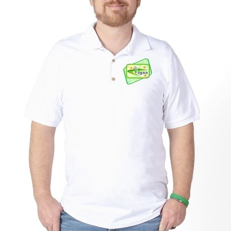 Go Vegan Golf Shirt