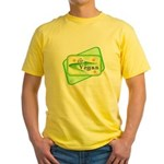 Go Vegan Yellow T-Shirt
