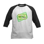 Go Vegan Kids Baseball Jersey
