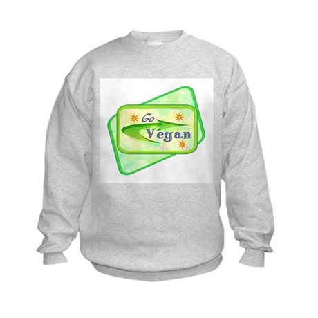 Go Vegan Kids Sweatshirt