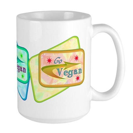 Go Vegan Large Mug