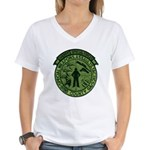 Georgia Sheriff Women's V-Neck T-Shirt
