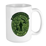 Georgia Sheriff Large Mug
