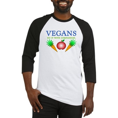 Vegans Do It... Baseball Jersey