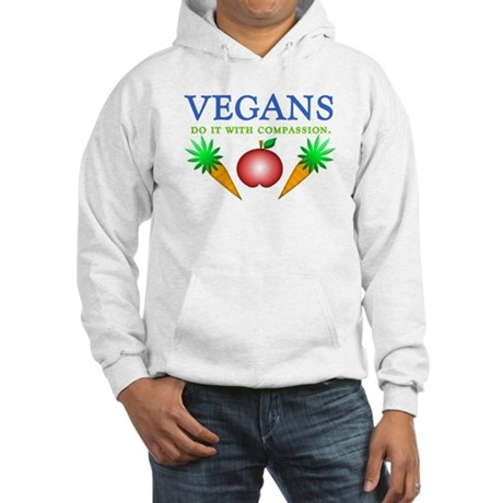 Vegans Do It... Hooded Sweatshirt