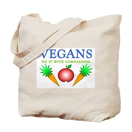 Vegans Do It... Tote Bag
