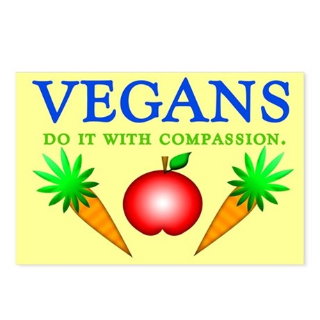 Vegans Do It... Postcards (Package of 8)