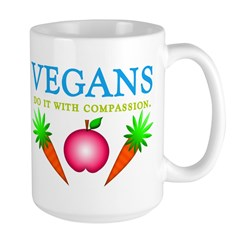 Vegans Do It... Large Mug