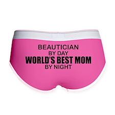 World's Best Mom - Beautician Women's Boy Brief