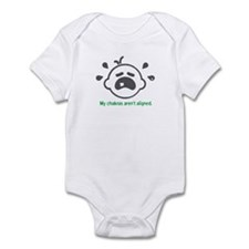 Yoga Chakras - Infant Bodysuit (Green)