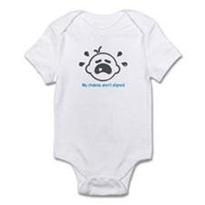 Yoga Chakras - Infant Bodysuit (Blue)