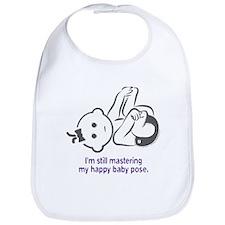 Yoga Happy Baby - Bib (Purple)