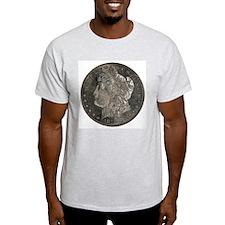 Morgan Double-Sided Ash Grey T-Shirt