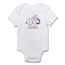 Yoga Happy Baby - Onesie (Orange)